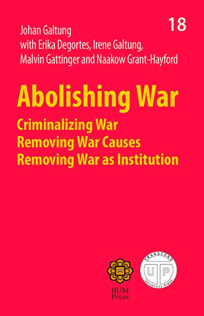 Abolishing War cover