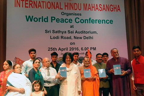Global Peace Science (GPS): Victory of Peace over War in XXI Century at World Peace Conference, New Delhi, India, April 25, 2016
