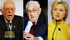 Sanders Attacks Clinton-Kissinger Vision for Perpetual War
